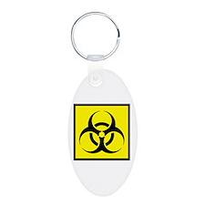 Biohazard Keychains