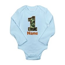 1st Birthday Camo Body Suit