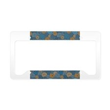 Hypnotic Stare License Plate Holder