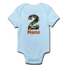 2nd Birthday Camo Body Suit