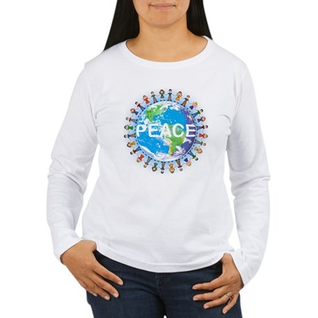 World Peace Women's Long Sleeve T-Shirt