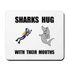 Sharks Hug Mousepad