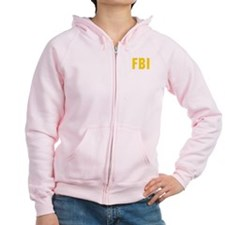 FBI Zipped Hoody