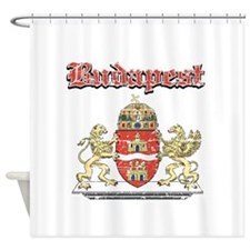 Budapest designs Shower Curtain