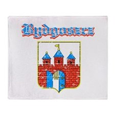 Bydgoszcz designs Throw Blanket