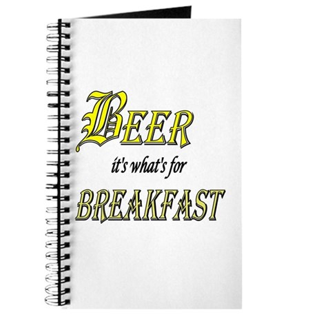 Breakfast Beer Journal
