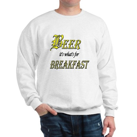 Breakfast Beer Sweatshirt