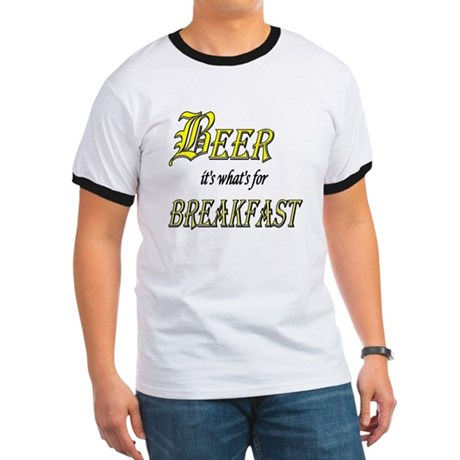 Breakfast Beer Ringer T