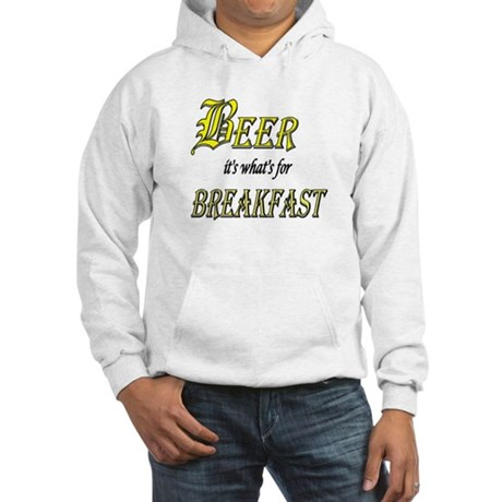 Breakfast Beer Hooded Sweatshirt