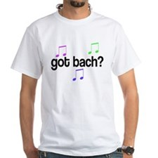 Got Bach White T-Shirt