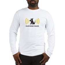 sirius-xm-back Long Sleeve T-Shirt
