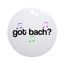 Got Bach Ornament (Round)