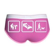 Dog Walking Women's Boy Brief