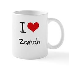 I Love Zariah Mug