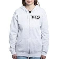 Texas Fashion Designs Zip Hoodie