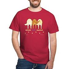 Nothin' Butt Goldens Red T-Shirt