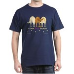 Nothin' Butt Goldens Navy T-Shirt