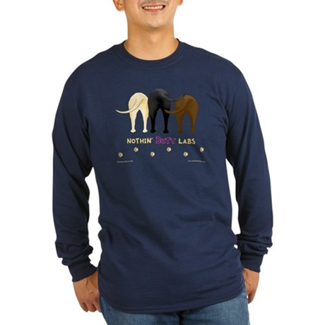 Nothin' Butt Labs Long Sleeve Dark T-Shirt