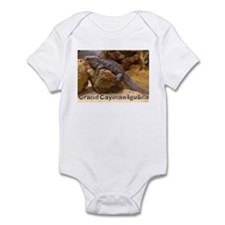 grand cayman iguana Infant Bodysuit