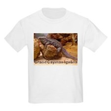 grand cayman iguana Kids T-Shirt