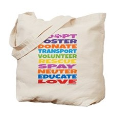 Adopt-Foster-Rescue Tote Bag
