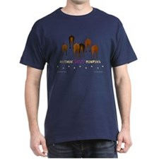 Nothin' Butt MinPins Navy T-Shirt