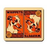 WHIPPETS WMD Atomic Dog Mousepad
