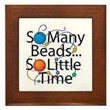 So Many Beads.... Framed Tile