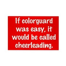 Funny Winter guard Rectangle Magnet (10 pack)