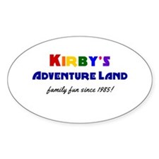 Kirby's Adventure Land Decal