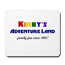 Kirby's Adventure Land Mousepad