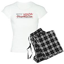 Job Ninja Pharmacist pajamas