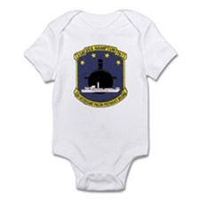 USS Hampton SSN 767 Infant Bodysuit