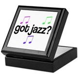 Got Jazz Keepsake Box