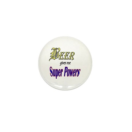Super Beer Mini Button