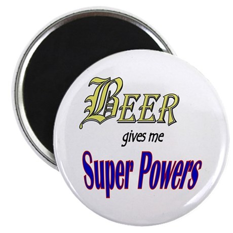 "Super Beer 2.25"" Magnet (100 pack)"