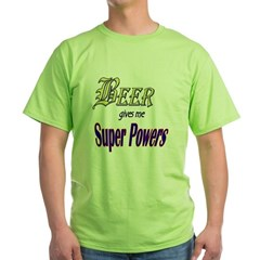 Super Beer Green T-Shirt