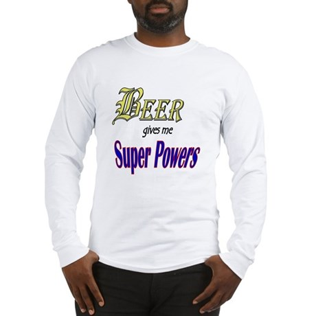 Super Beer Long Sleeve T-Shirt