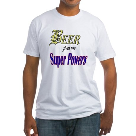 Super Beer Fitted T-Shirt