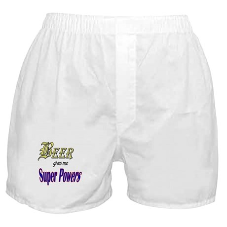 Super Beer Boxer Shorts