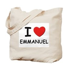 I love Emmanuel Tote Bag
