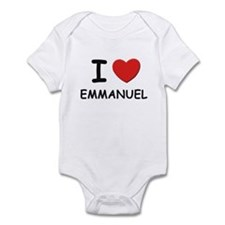 I love Emmanuel Infant Bodysuit