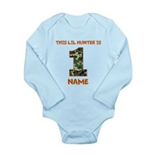 1st Birthday Hunting Body Suit
