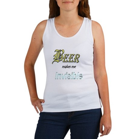 Invisible Beer Women's Tank Top