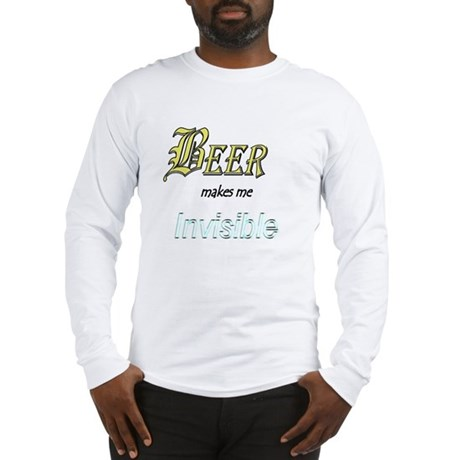 Invisible Beer Long Sleeve T-Shirt