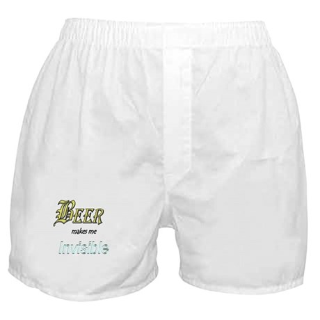 Invisible Beer Boxer Shorts