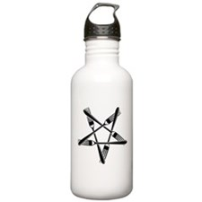 Fork Pentagram Water Bottle