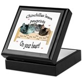 Chin Pawprints Keepsake Box