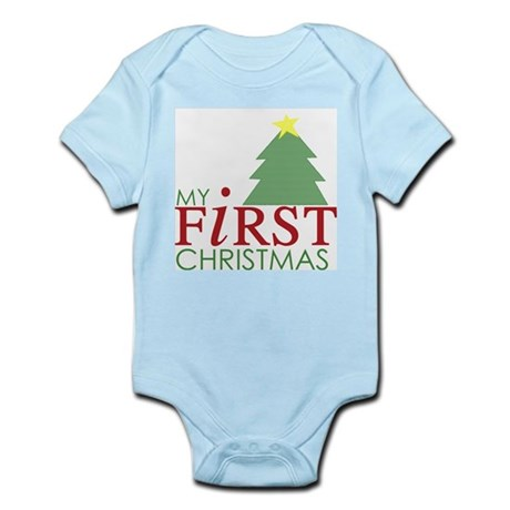 My First Christmas - Tree Infant Bodysuit