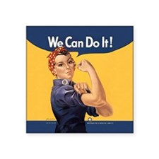 Rosie the Riveter We Can Do It Sticker